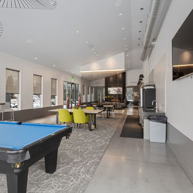 The Slate at Andover -  Resident Lounge with Billiard